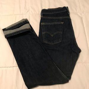 30x30 Levi's 513 stretch slim straight jeans